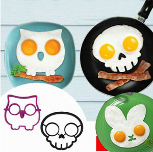 Kitchen Silicone Egg Shaper Omelette Mould Egg Pancake for Frying Eggs Tools