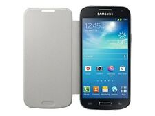 Samsung Flip Premium Case Cover for Samsung Galaxy S4 Mini - White