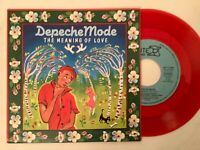 7'Depeche Mode >The meaning of love< RED VINYL*Germany