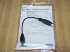 New listing Dell Inspiron Latitude Composite S-Video Rca Tv Out Adapter Cable 7309P 3848P