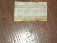 RARE Intact Vellum Papal Bull w/ Lead Seal/Bulla, Pope PIUS VII, Dated 1816
