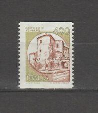 s37301 ITALIA MNH** 1983 Castelli L. 400 da bobine coil 1v