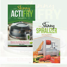 The Skinny Actifry Cookery Collection 2 Books Set Spiralizer Recipe Book