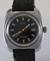 Kelton Handaufzug Uhr / seltenes Modell / 25 metres