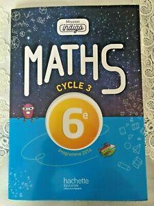 Maths - Cycle 3 - 6ème - Programme 2016 - Hachette Education
