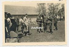 Foto Polen-Soldaten- Dorf/ Ort ? 2.WK (p891)
