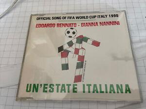 Edoardo Bennato & Gianna Nannini - Un' Estate Italiana - Maxi CD Top Zustand