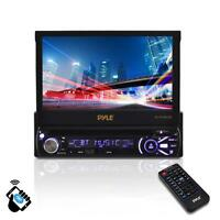 """PYLE PLTS78DUB 7"""" TOUCH SCREEN CD/DVD/MP3 Car Player w/USB SD AUX Receiver"""