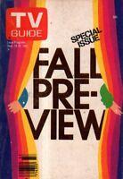 1981 TV Guide September 12 - Fall Preview-James Arness; Falcon Crest;Nell Carter