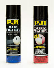 PJ1 Foam Air Filter Treatment/Oil 13 oz and Cleaner 15 oz - Combo Kit