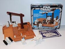 STAR WARS KENNER PLAYSET 1977 ANH DROID FACTORY NEAR COMPLETE IN ORIGINAL BOX