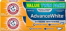 Arm & Hammer Advance White Toothpaste Clean Mint 170g Stain Defense 2-Pack 03/23
