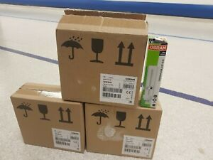 10 x Osram Dulux DE 18w / 830 Energy Saving 4-PIN lamp - Warm White - G24q-2 D/E