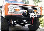 "Early Ford Bronco Front Winch Bumper 66-77' 2-3"" Body Lift Only"