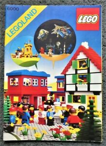 LEGO Idea Book 6000 Legoland - Part Used Sticker Sheet - Printed 1979 - 84 Pages