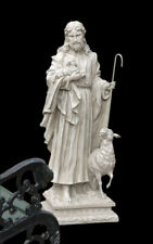 """Jesus the Good Shepherd 43"""" Christian Garden Statue Sculpture"""