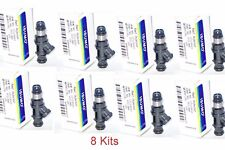 Set of 8 Fuel Injector Fits:8 Cyl  Chevrolet GMC Hummer Isuzu