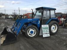 1996 New Holland 3930 4X4 Utility Tractor W/ Cab & Loader Needs Work!