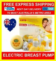 KINYO BPA FREE QUIET DOUBLE CORE WISE ELECTRIC BREAST PUMP FEEDING BABY MILK