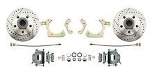 GM 1959-64 Performance Disc Brake Conversion Kit Drilled & Slotted  (DBK5964LX)