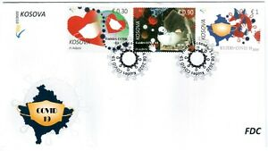 Kosovo Stamps 2020. Pandemic care. FDC MNH