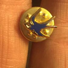 Cardiff City Piccolo Ritaglio Bluebird smalto pin badge