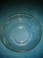 Pyrex Green Tinted Glass Ribbed Mixing Serving Bowl 7403-S  10 Cup