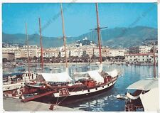 IMPERIA SANREMO 266 PORTO - BARCHE Cartolina VIAGGIATA 1963