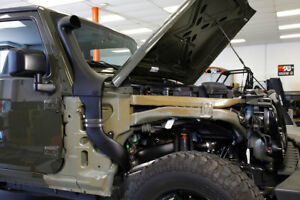 K&N Intake Snorkel For Wrangler JK Jeep 3.6 2012-2018 AirCharger 63-1573