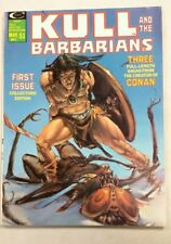 Kull and the Barbarians Magazine  #1 in VF/NM condition. Marvel comics