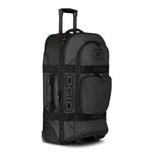 New OGIO Large Wheeled Travel Bag with Retractable Handle and External Pockets