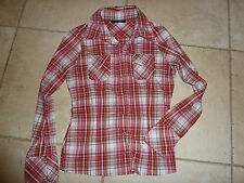 Chemise carreaux rouge VeroModa taille M