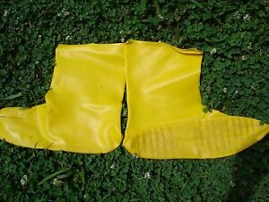 """10 pair NEW North Safety 12"""" A352 Latex Bootie [ boot cover]"""