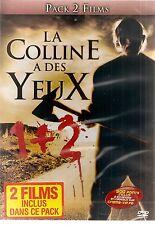 """""""La Colline a des yeux + La Colline a des yeux 2"""" - Bipack -NEUF SOUS BLISTER"""