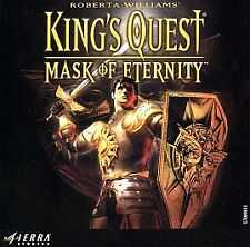 King's Quest Mask of Eternity CD Sierra PC Big Box Game Complete G911 SEALED NOS