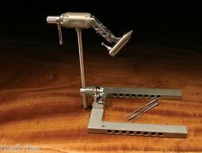 MARC PETITJEAN   MASTER SWISS VISE  with  Accessory Post-- Fly Tying