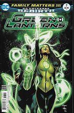 Green Lanterns No.7 / 2016 DC Universe Rebirth / Sam Humphries & Ronan Cliquet