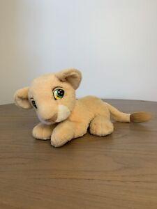 The Lion King 1993 Nala Plush Authentic Vintage Disney Toy Mattel Green Eye Purr