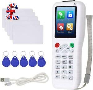 QUALITY Copier Full Decode NFC Card Reader 125KHz 13.56MHz Writer Cloner RFID Ke