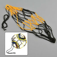 3pcs Nylon Net Bags Ball Carry Mesh Volleyball Basketball Football Soccer Useful