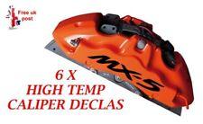 MAZDA MX5  Brake Caliper Decal   sticker