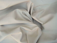 Cotton Twill Spandex Fabric by the Yard 4 Way Stretch STONE (Chino Material)