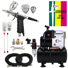 OPHIR Pro 110V Air Compressor with 3 Tips  Airbrush Kit for Body Art Paint Tatto