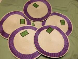"""""""Sonoma outdoors""""  round placemats, 14"""" , 6 count"""