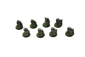 LOTR 8 Black Guard of Barad Dur #1 WELL PAINTED Games Workshops Angmar Guards Du