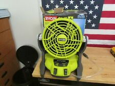 Ryobi PMF01ID ONE+ 18-Volt Hybrid Portable Bucket Top Misting Fan (Tool Only)