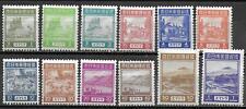 Japanese Occupation Neth Indies/SUMATRA stamps 1943 MI 1-12 MNH VF