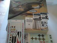 FOCKE- WULF FW 190 A 1/32 SCALE HASEGAWA MODEL+N.2 PHOTOETCHED+SUPERDECALS MODEL
