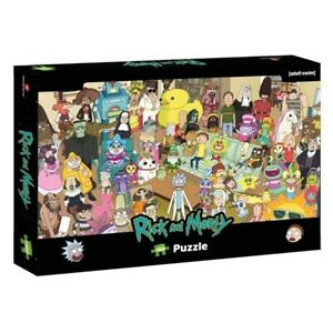 Ricky and Morty 1000pc Puzzle - NEW Board Game - AUS Stock