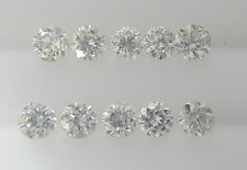 REAL 100% NATURAL Loose Round Diamond Clarity VS2 Color G-H White Colour 1.5MM